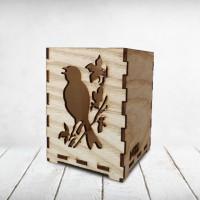 Hộp cắm bút hình chim - Pencil case_BI