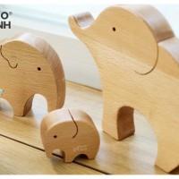 Gia đình voi 3 thành viên
