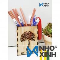 Hộp cắm bút hình cây quạt - Pencil case_FT