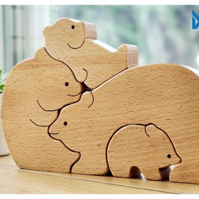 Gia đình nhà gấu