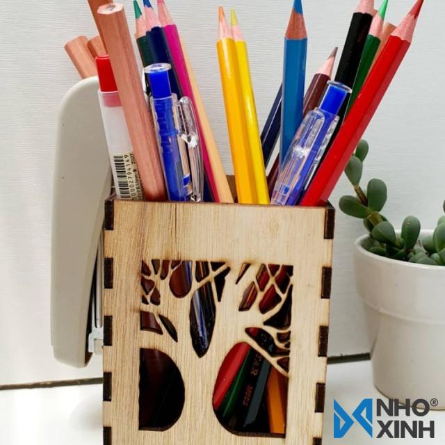 Hộp cắm bút hình cây - Pencil case_TR